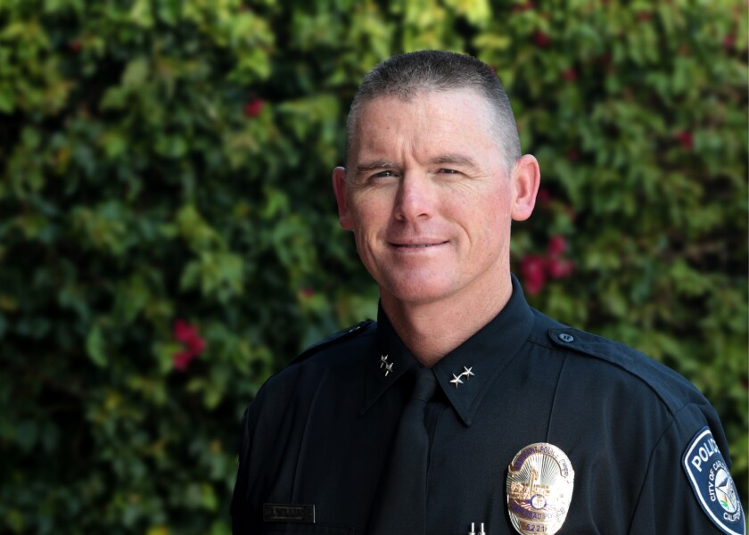 Assistant Police Chief Mickey Williams will become the City of Carlsbad's next police chief.