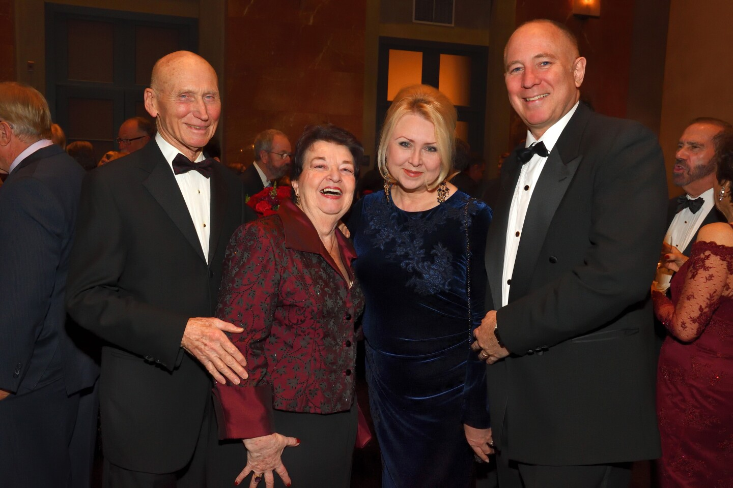 Paul Meschler and Alexandra Pearson, Svetlana and Matthew Weil (all are gala honorary chairs)