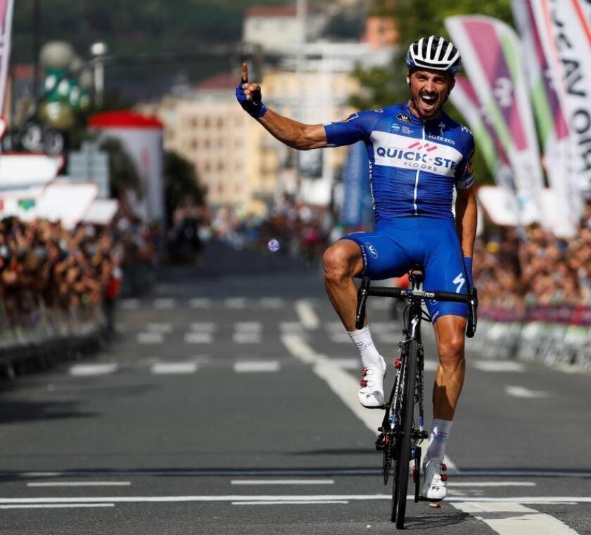 El ciclista francés Julian Alaphilippe (Quick Step). EFE/Archivo