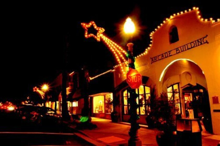 The Village is sparkling this season as shoppers, merchants await. GREG WIEST PHOTO