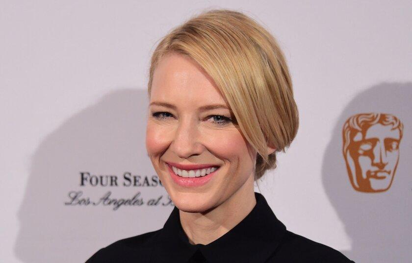 Cate Blanchett at the 2016 BAFTA Tea