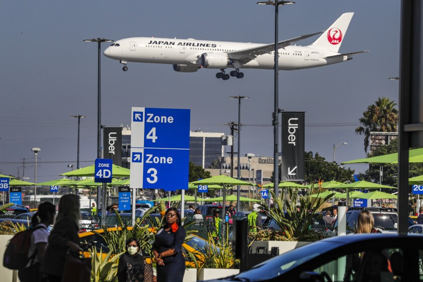 """""""LAXit"""" lot at Los Angeles International Airport"""
