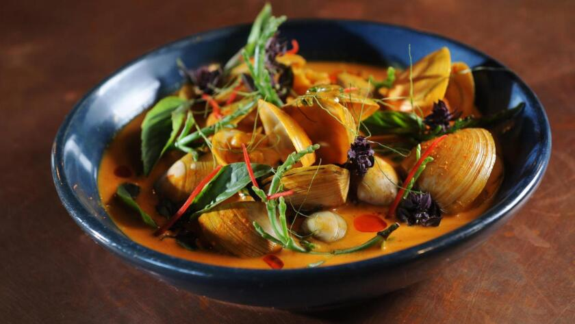 Turmeric and coconut curry