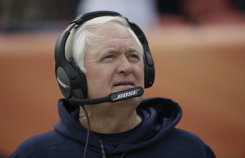 Rams Part With Defensive Coordinator Wade Phillips Los Angeles Times