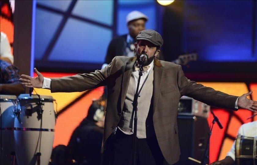 Imagen del cantante dominicano Juan Luis Guerra. EFE/Archivo