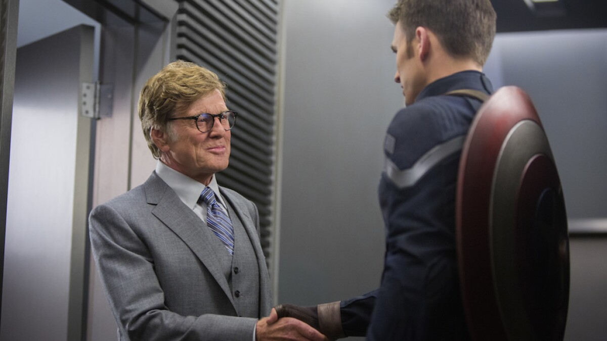 In new 'Captain America,' Robert Redford comes in from the cold ...