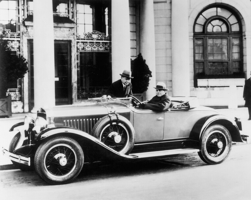 The 1927 Buick LaSalle Series 303. Designed by Harley Earl, LaSalle automobiles were manufactured by Cadillac, but were smaller and priced lower than Cadillacs.