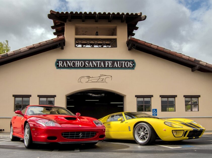 Rancho Santa Fe Autos, formerly Rancho Santa Fe Motors, is the only licensed dealer in Rancho Santa Fe. Courtesy photo