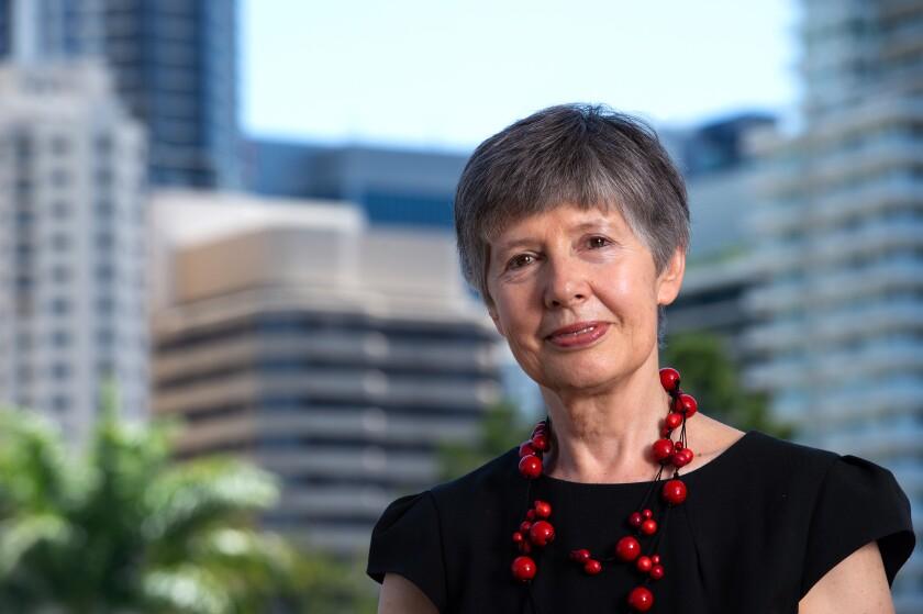 پروفسور QUT ، لیدیا موراوسکا ، مدیر آزمایشگاه بین المللی کیفیت و سلامت هوا.