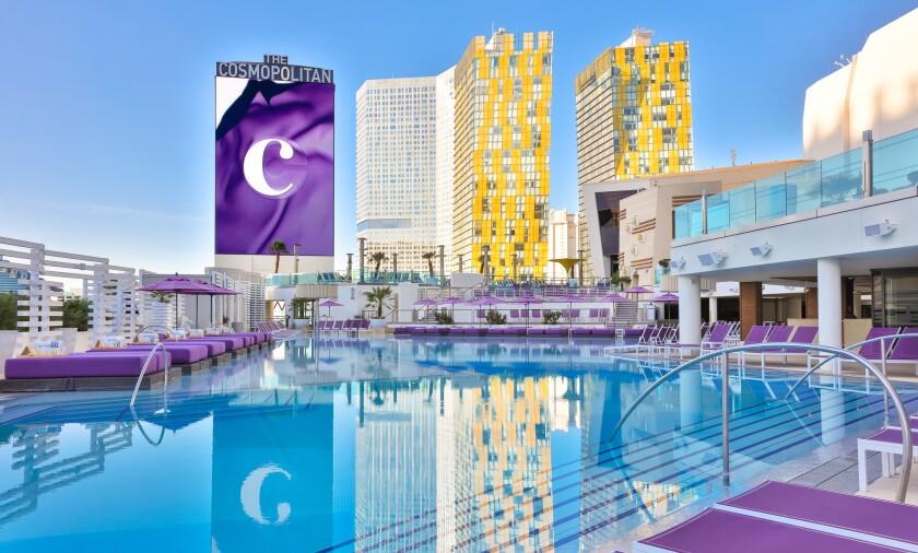 The Boulevard Pool at the Cosmopolitan of Las Vegas.