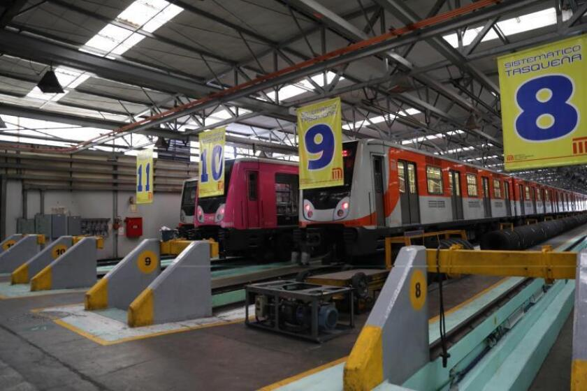 Mexico City Metro running like clockwork in its 50th year