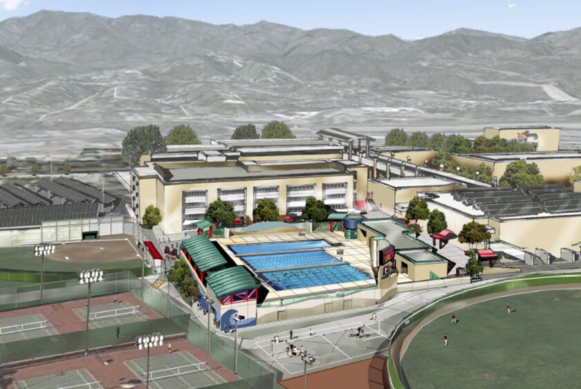 The GUSD board voted on Tuesday to hire tBP/Architecture to take over the design of the pool, observation deck and accompanying locker facilities for home and visiting teams, as well as new restrooms, showers and storage for pool equipment.