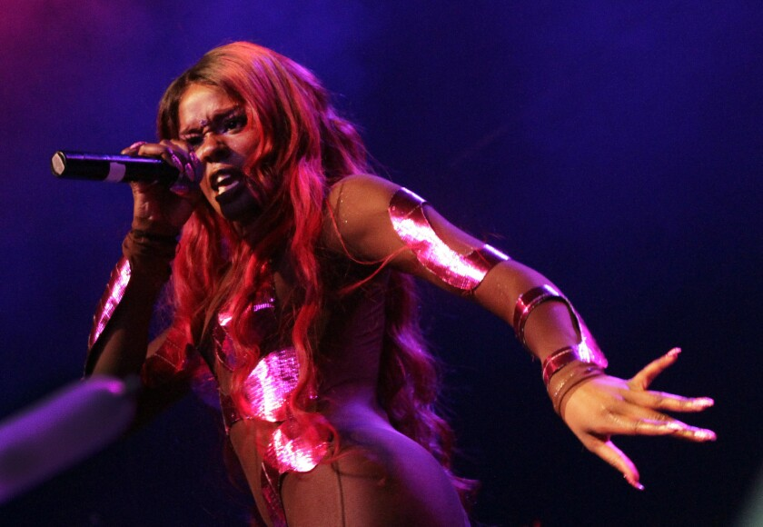 Azealia Banks brings her Mermaid Ball 2012 show from her native Harlem to the Fonda Theatre in Hollywood last year.
