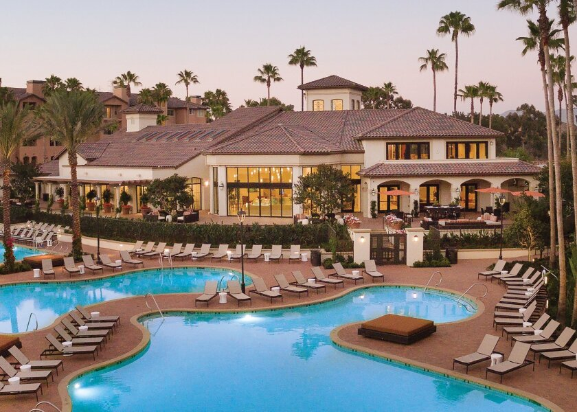 The Village Mission Valley raises the bar for luxury living with lagoon-like pools and unprecedented resort-style amenities.