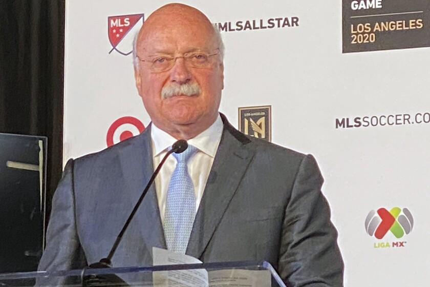 Liga MX president Enrique Bonilla.