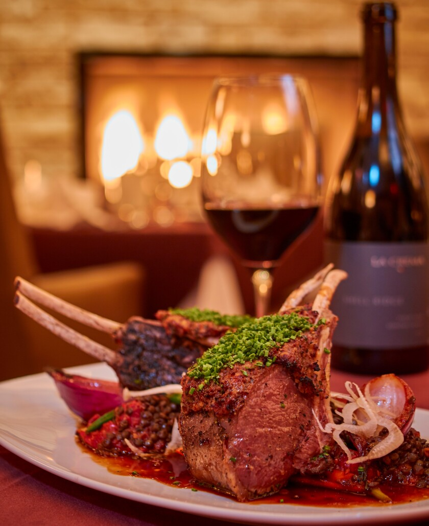 Barona's signature steakhouse specializes in more than steak; it's enticing menu includes a Colorado lamb rack. Pair the dish with one of the many well-priced options on the wine list.