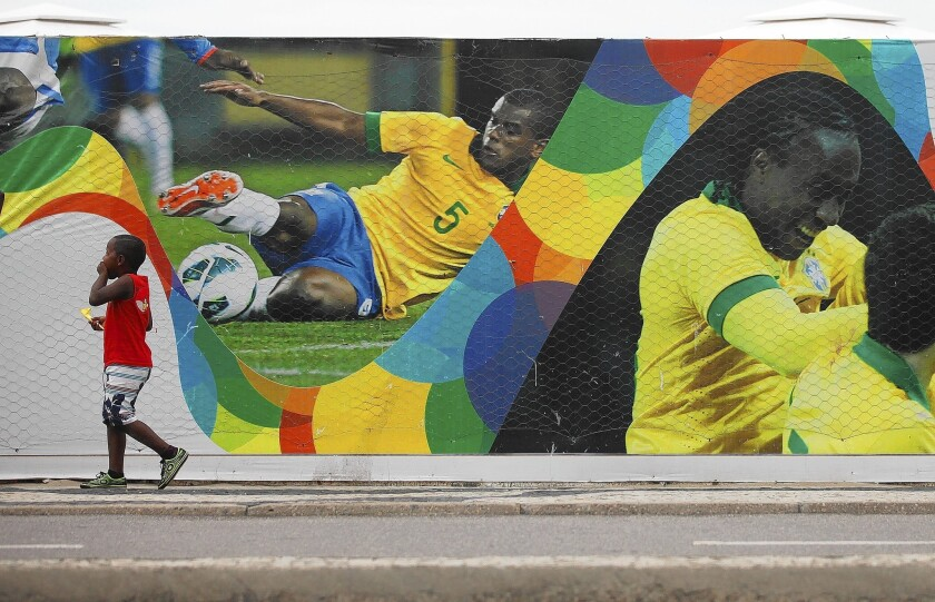 Rio gears up for World Cup