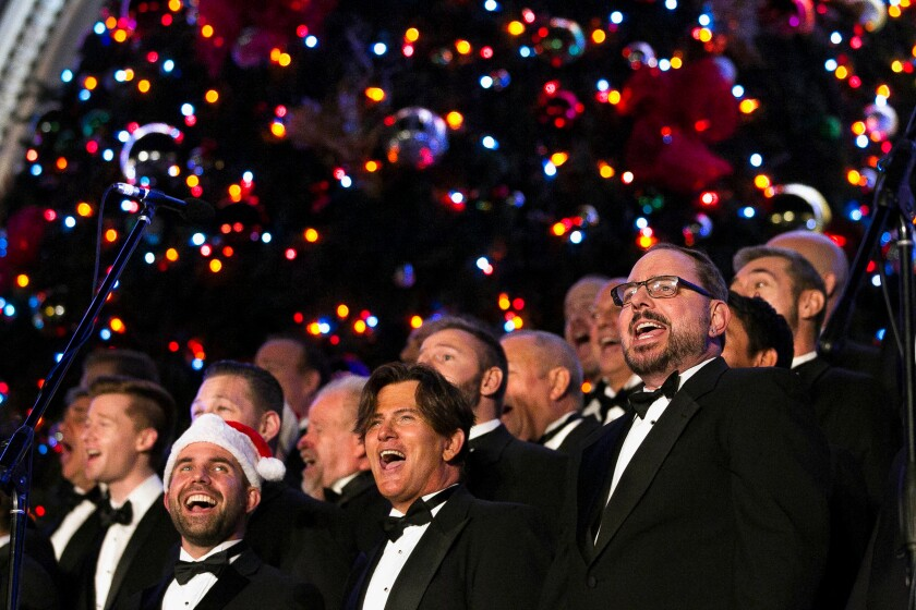 A photo of The San Diego Gay Men's Chorus