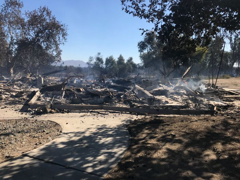 Nature education center in progress at Rancho Jurupa Park destroyed in fire