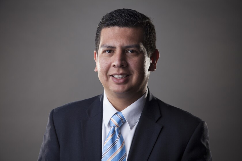 San Diego Councilman David Alvarez