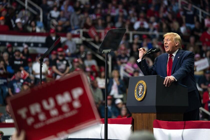 Election 2020 Trump Fundraising