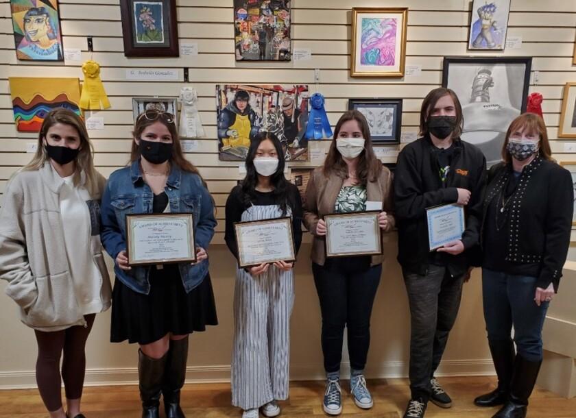 The Escondido Art Association recently awarded its 2021 scholarships.