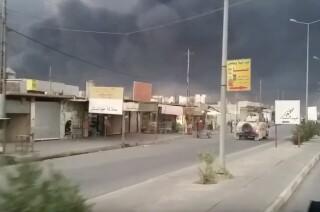 Qayyarah: A town in grey