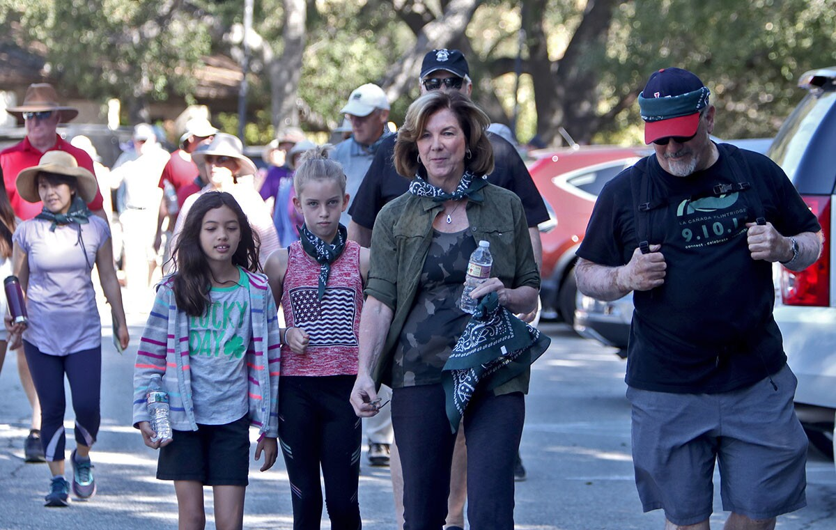 Photo Gallery: Annual mayor's walk, called Walker's Walkabout, draws large crowd