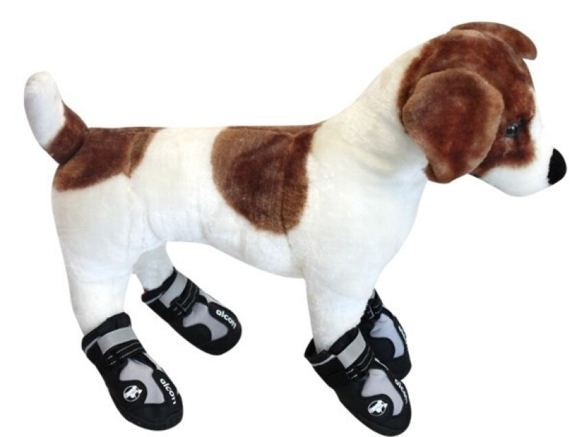 These boots are made for walking -- on a variety of surfaces that could damage your dog's paw pads.