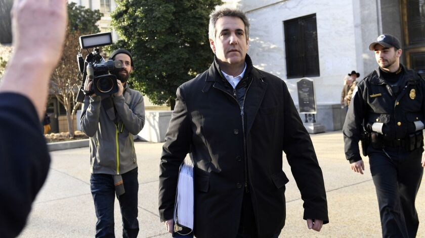 Michael Cohen's testimony could lead to numerous congressional investigations into President Trump's dealings.