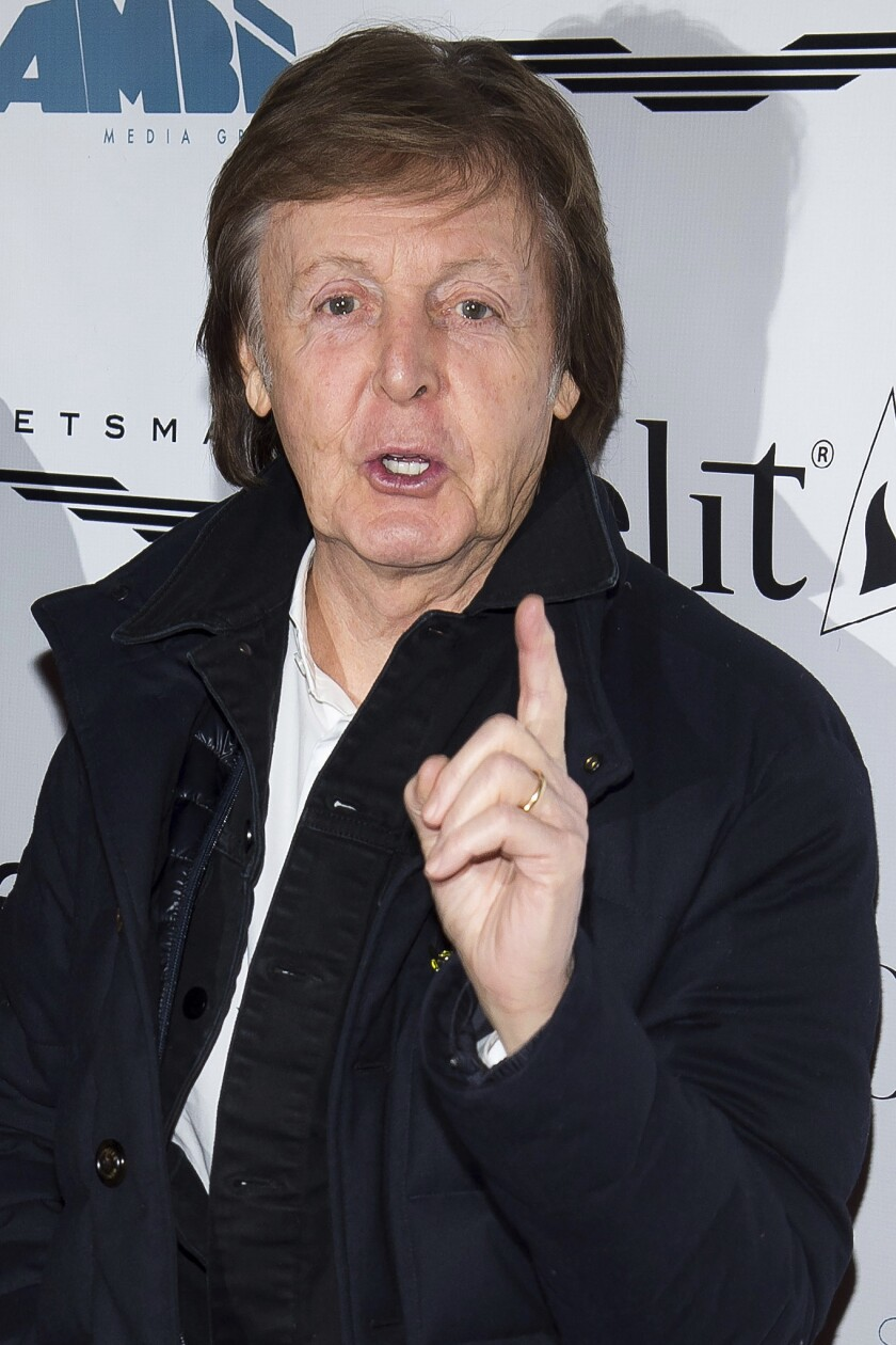 Paul McCartney files lawsuit against Sony/ATV over copyright of