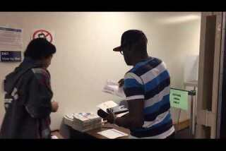 Early voting in Los Angeles County