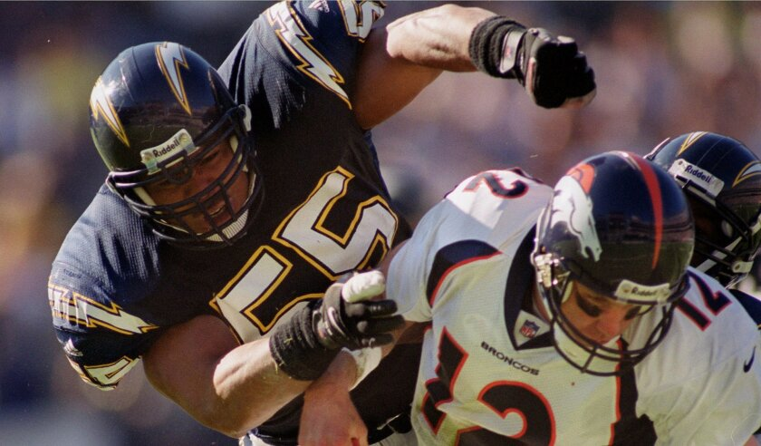 SEAU'S 1998 SEASON: After dipping below 100 tackles in 1997 for the first time since his rookie season, Seau easily eclipsed that mark in 1998 with 115 tackles, including 3.5 sacks. That was good enough to earn him first-team All-Pro honors. He was also a Pro Bowl starter for the AFC. The Chargers finished 5-11 that season.