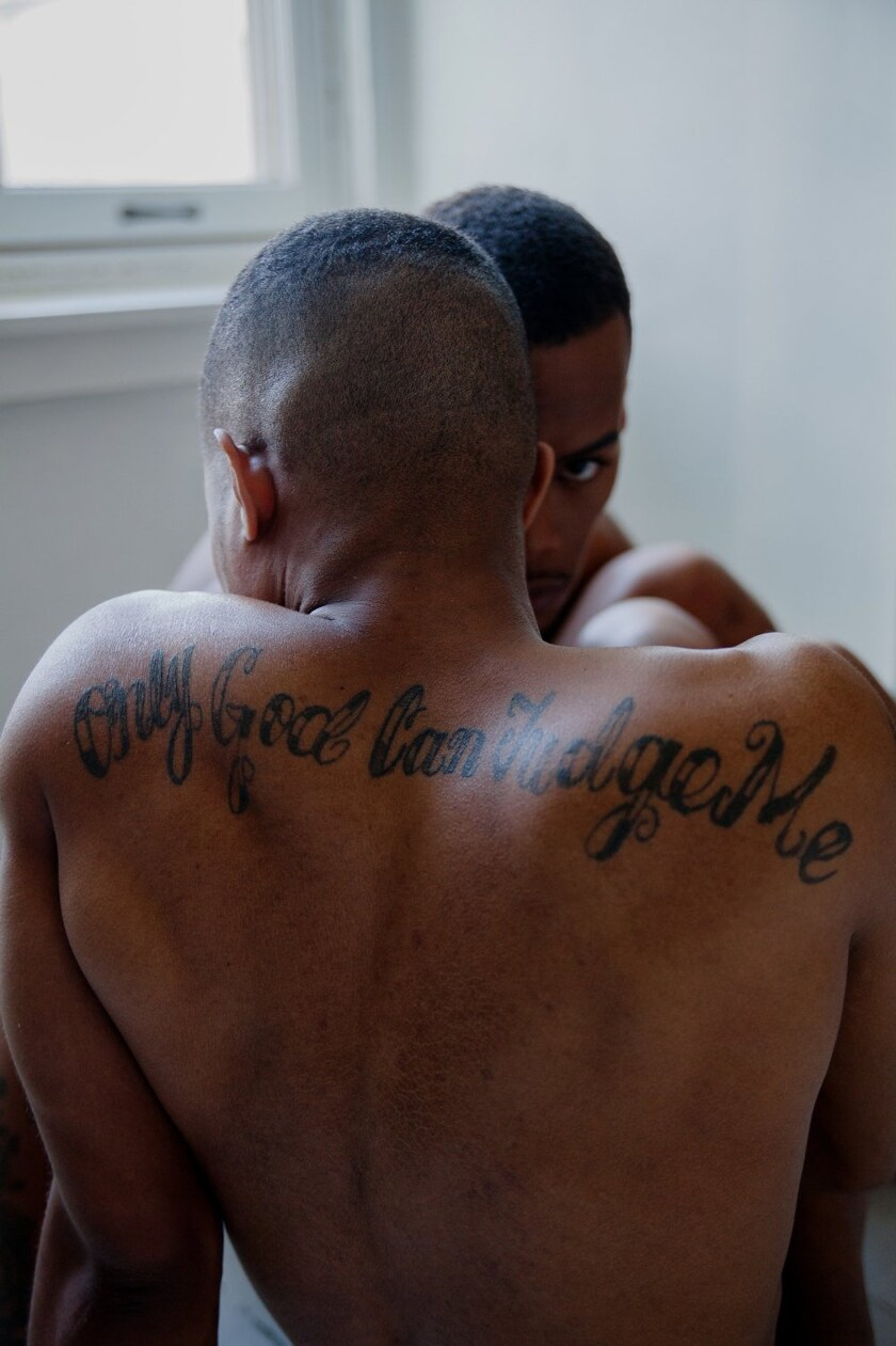 Black masculinity and an artist's exploration of desire, intimacy and queerness