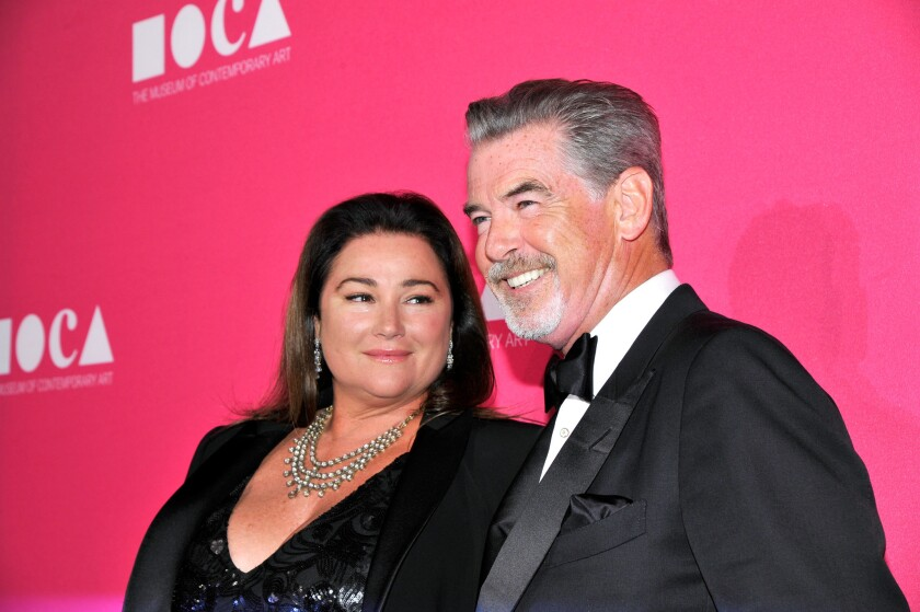 Actor Pierce Brosnan and wife Keely have purchased a home in Santa Monica for nearly $3 million.
