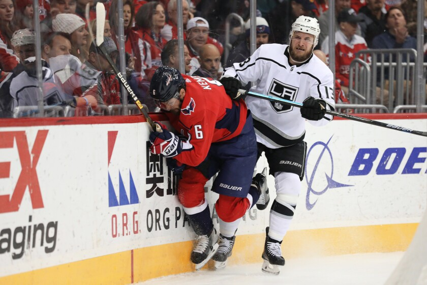 Los Angeles Kings v Washington Capitals