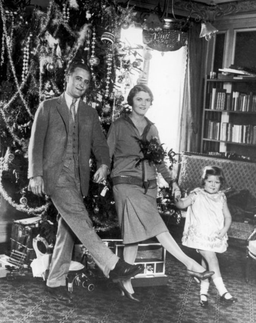 The Fitzgerald family in 1925