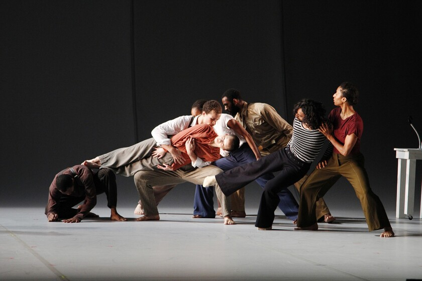 Bill T. Jones/Arnie Zane Dance Company - Analogy - Dora