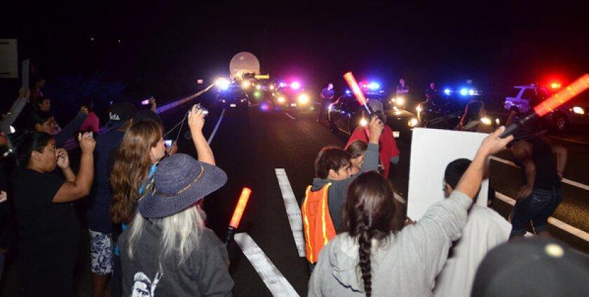 Nez Perce protest