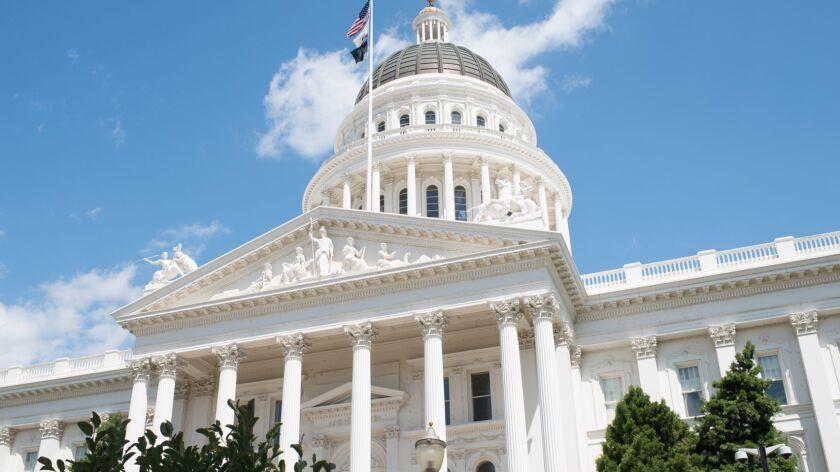 Sacramento State Capitol of California Building