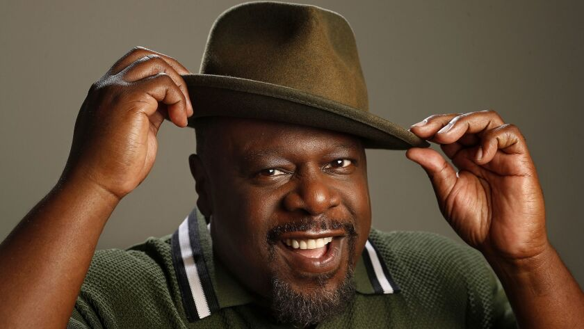 "STUDIO CITY, CA-SEPTEMBER 6, 2018: Cedric the Entertainer, star of the new CBS sitcom, ""The Neighbo"