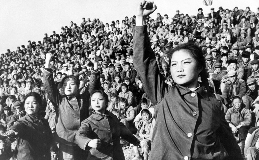Chinese Red Guards in 1966.