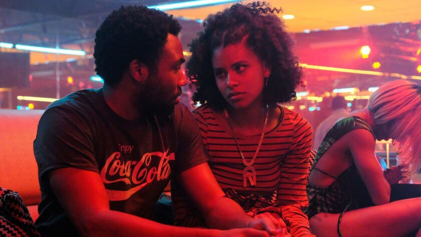 ATLANTA -- Season Two, Episode 3 - Donald Glover as Earnest Marks and Zazie Beetz as Van in a scene