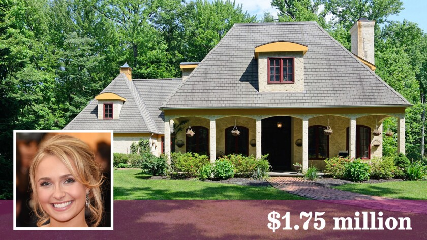 The childhood home of actress Hayden Panettiere is for sale in Snedens Landing, N.Y.