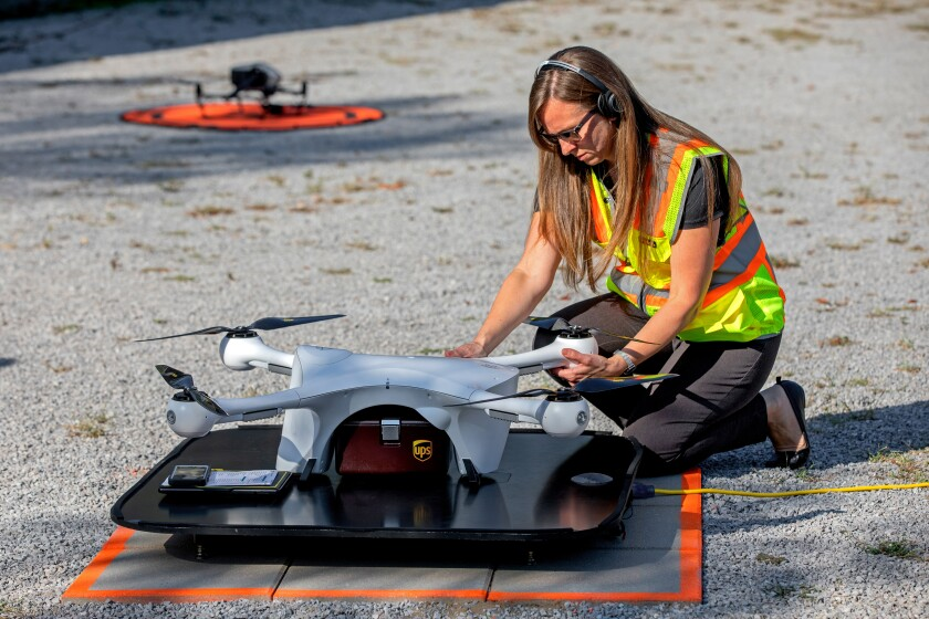 UPS drone delivery approved