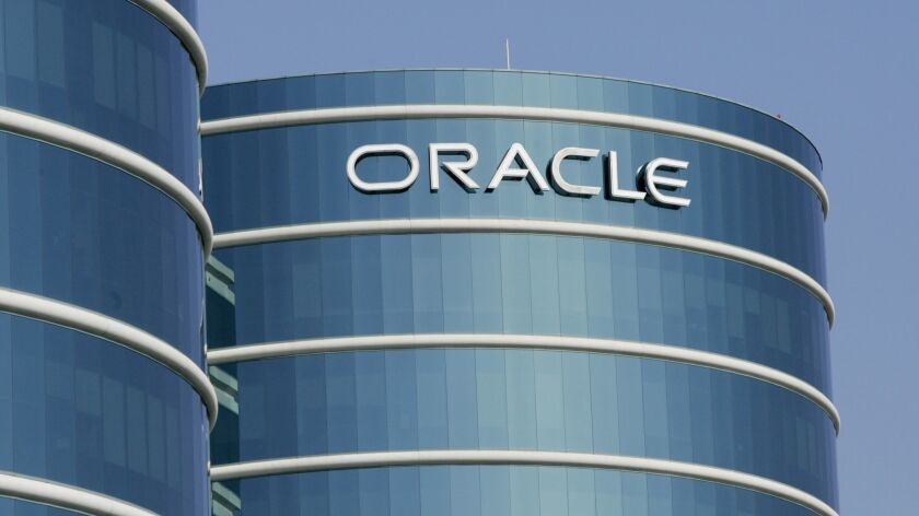 An Oracle office building