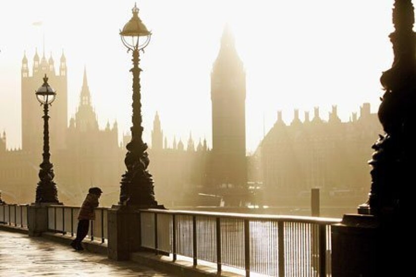 London is filled with iconic sites, including Big Ben and the Houses of Parliament. (Getty Images)