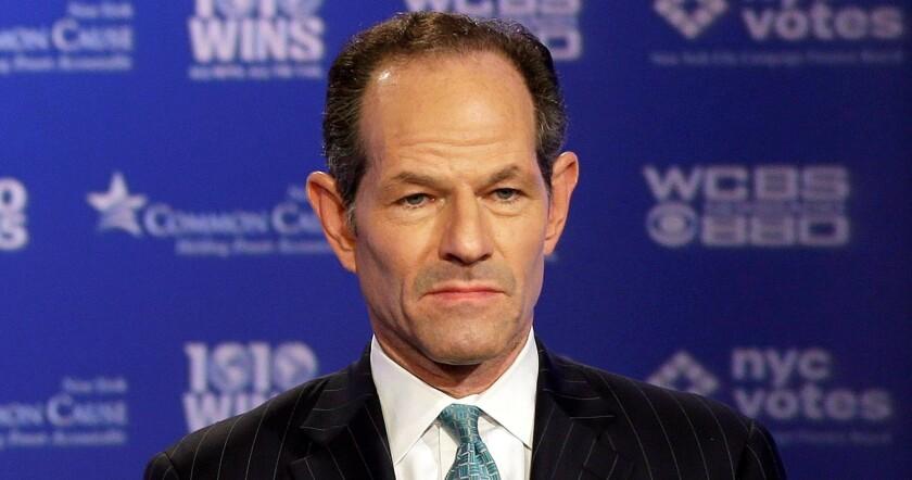 Former New York Gov. Eliot Spitzer in 2013.