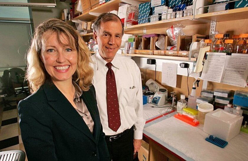 The University of California San Diego's Dr. Catriona Jamieson and Dr. Dennis Carson are working to solve the enigma of leukemia cancer stem cells.