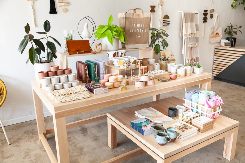 Small Batch in La Mesa is known for stationary and small gifts.